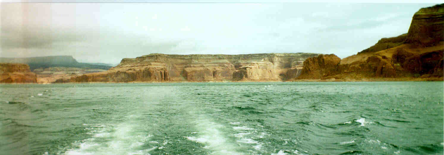 Lake Powell Houseboating Report And Review Spring Break 1997